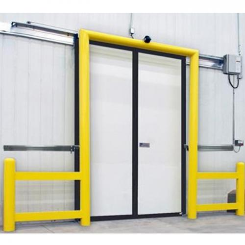 Enviro Two Directional Impactable Sliding Doors Installation