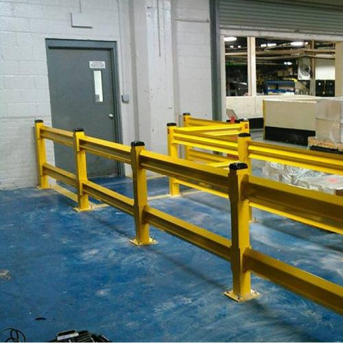 Safety Guard Rail Installation 2